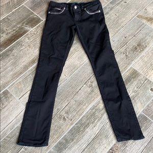Levi Girl's Rhinestone Accented Skinny Jeans